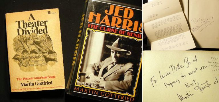 Jed Harris: The Curse of Genius. Martin Gottfried.