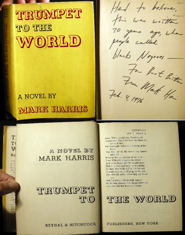 Trumpet The World. Mark Harris.