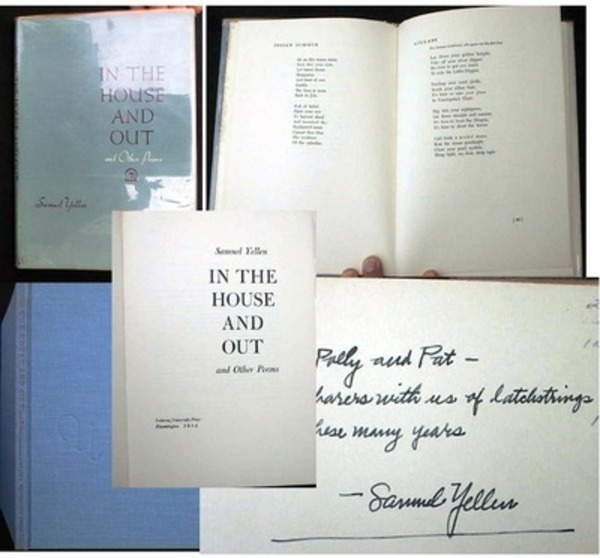 in the House and Out and Other Poems. Samuel Yellen.