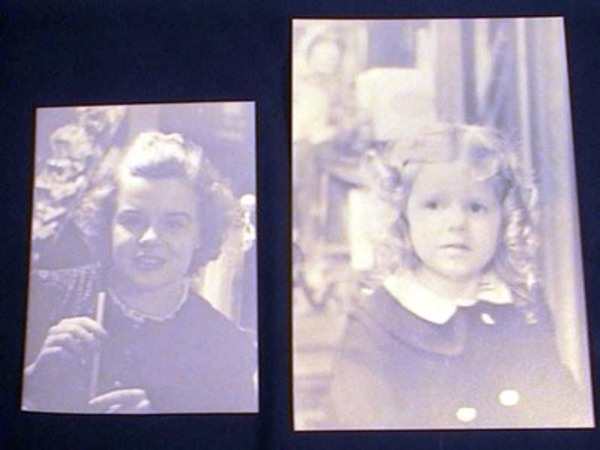 C. 1930s 2 Photographs of Girls Who May Have Thought They Looked Like Shirley Temple at One Time. Photography.
