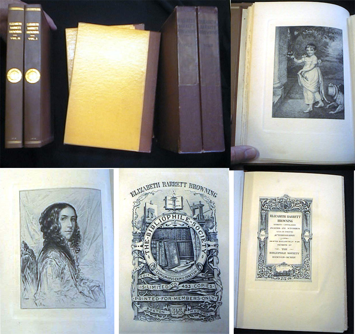 Elizabeth Barrett Browning Hitherto Unpublished poems and Stories with an Inedited Autobiography. Elizabeth Barrett Browning.