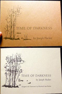 Time of Darkness. Joseph Hacker.