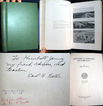 Chapters in Nebraska Archaeology Volume One Numbers I-VI. Earl H. Bell.