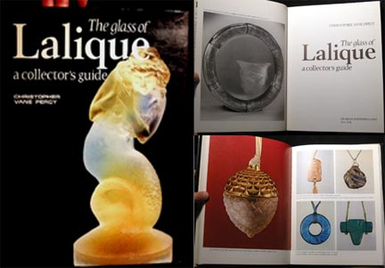 The Glass of Lalique a Collector's Guide. Christopher Vane Percy.