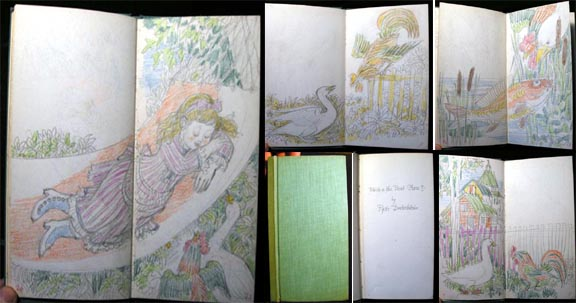 Original Artwork Illustrations for Pyotr Dudochkin Which is the Best Place? (1976) and Who Sings with What? By Vitali Bianki. Childrens Book.