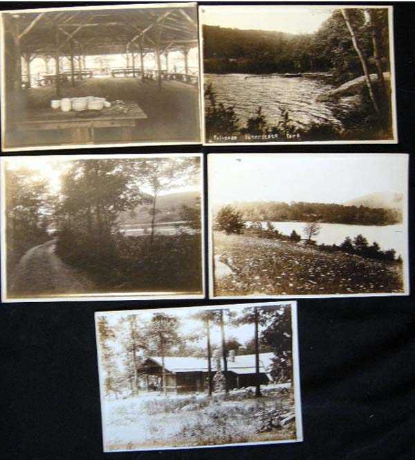 1921-1922 Professional Photographs of Palisades Interstate Park Camp Grounds, Buildings and Natural Scenery By The Depp Studio, Highland Falls NY. Palisades Interstate Park.