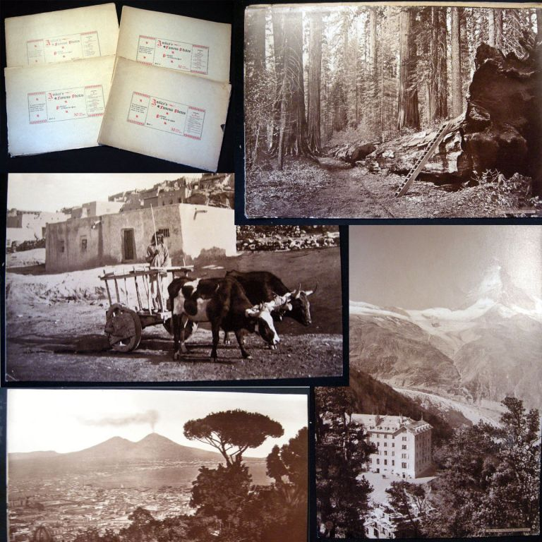 Amlico's Famous Photos. Published 10 Views in a Part. A Series Of Unmounted Photographic Views Of The Most Noted Places In The World Parts 1-4. Photographic History.