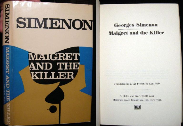 Maigret and the Killer. Georges Simenon.