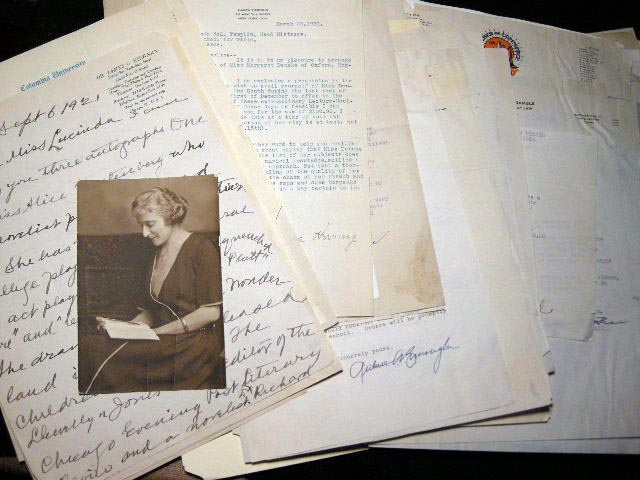 1921 - 1962 Collection of Correspondence of El Paso Texas Educator & Author Dr. Lucinda De Leftwich Templin, Including Material Concerning Her War Museum and the Establishment of Radford School for Girls. 20th Century Womens Education History.