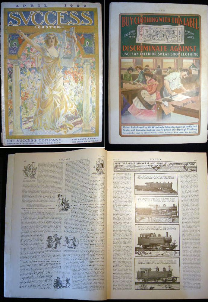 Success Magazine April 1902 Easter Issue. Americana - Periodical - Success Magazine.