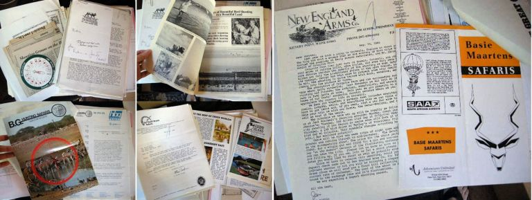 1975 - 2000 Collection of Material Regarding Big Game Hunting and Safaris Around the World. Sporting History - Big Game Hunting.