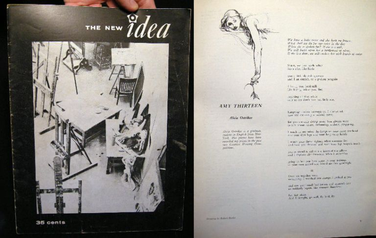 The New Idea Winter, 1962-1963 Quarterly Journal of Student Thought and Writing at the University of Wisconsin Madison. The New Idea.