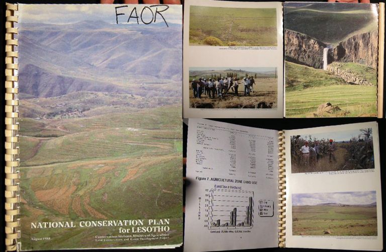 National Conservation Plan for Lesotho. Africa - Development - 20th Century - Lesotho.