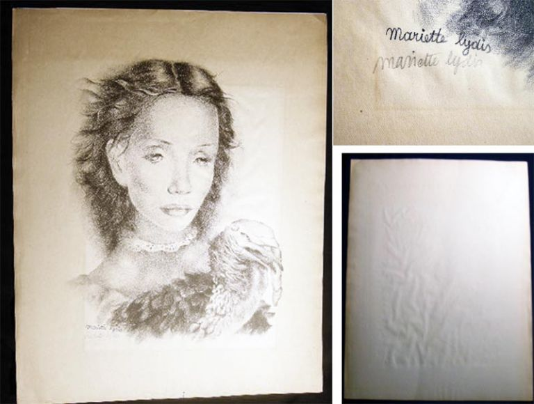 """Juana"" Lithograph Signed By Mariette Lydis. Art - 20th Century - Mariette Lydis The Society of Print Connoisseurs."