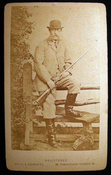 Carte-de-Visite Photograph of Prince Christian of Schleswig-Holstein. Photography - 19th Century - Germany - Royalty.