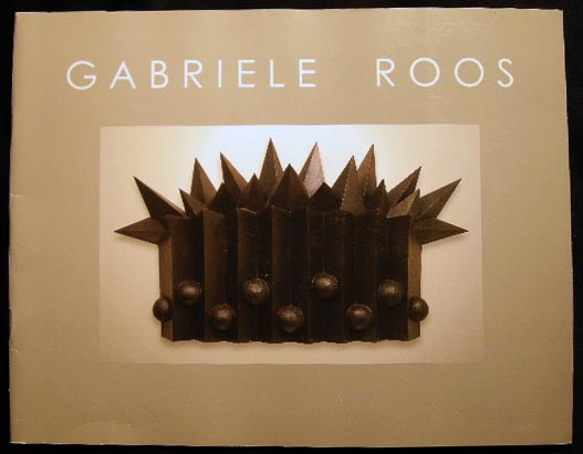 Gabriele Roos Catalog. Art - 20th Century - Gabriele Roos - Modern Art - Contemporary Art.