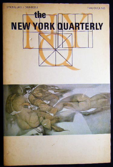 Spring 1970 Number 2 The New York Quarterly. Americana - 20th Century - Literature - The New York Quarterly.