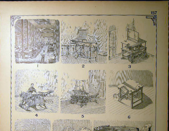 Early Paper Manufacturing & Folding Machines. Paper Manufacturing.