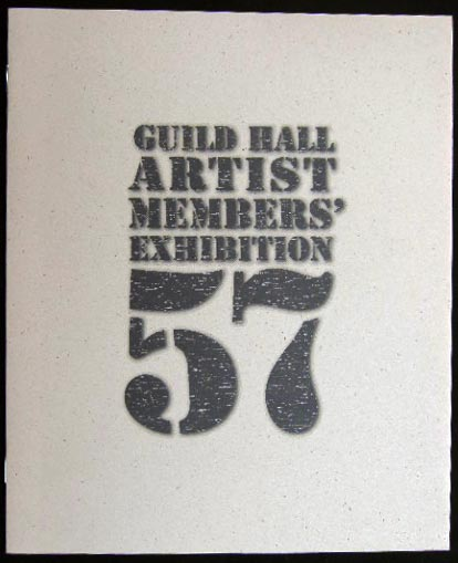 57th Annual Guild Hall Artist Members' Exhibition March 18th - April 29th, 1995. Americana - 20th Century - Art - East Hampton - Long Island - Guild Hall.