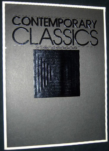 Contemporary Classics on Classic Laid from Neenah Paper. Americana - Papermaking Industry - Neenah Paper.