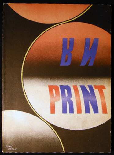 Print Quarterly Journal of the Graphic Arts Volume III, Number 1 Spring 1942. Art - Design - Typography - 20th Century - Graphic Arts - Print Quarterly.