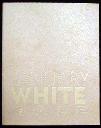 January White Sale Curated By Beth Rudin Dewoody January 13 - February 2011 Loretta Howard Gallery New York, NY. Art - 20th Century - Loretta Howard Gallery.