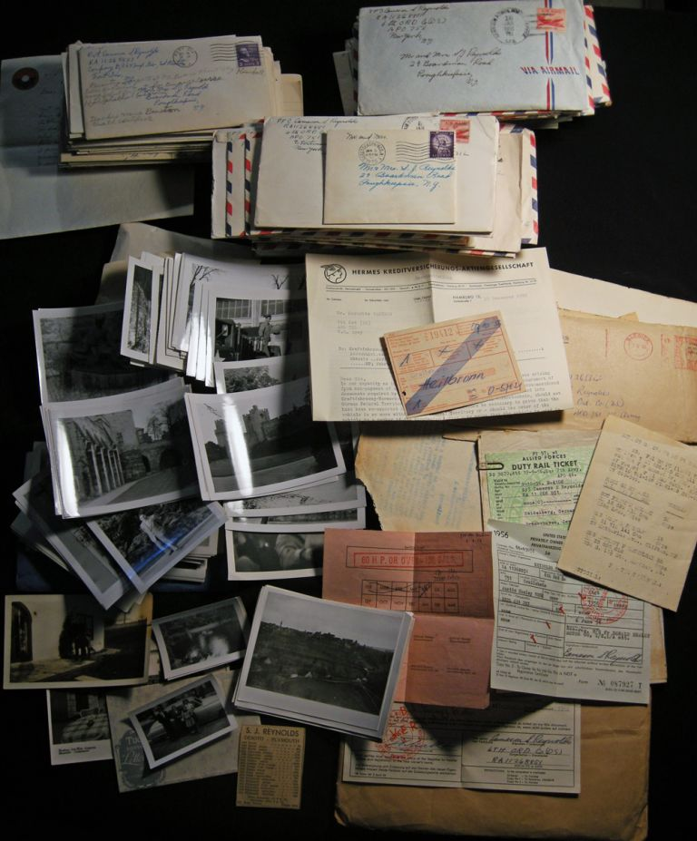 Circa 1953 - 1957 Collection of Letters, Documents, Photographs, Yearbooks and Ephemeral Materials of a Poughkeepsie, NY American U.S. Army Serviceman Stationed in Germany During the Cold War. Americana - Manuscript - 20th Century - United States Army - Germany.