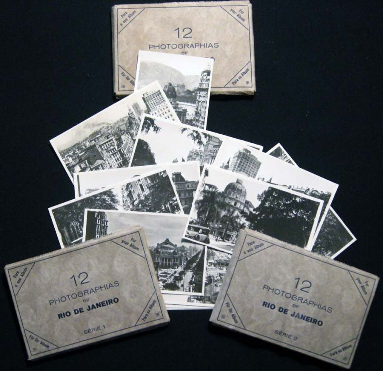 Circa 1930 Group of Souvenir Photographs By German-born Naturalized Brazilian photographer Theodor Preising (1883-1962). Brazil - Photography - 20th Century - Theodor Preising.
