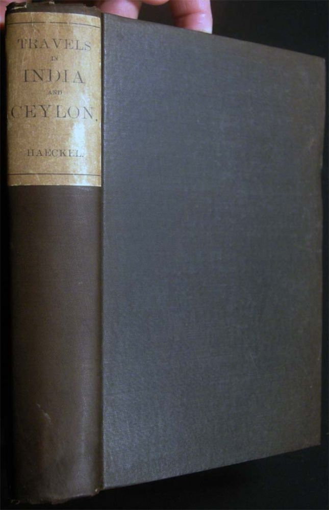 A Visit to Ceylon By Ernst Haeckel Translated By Clara Bell. Travel - 19th Century - Asia - Ceylon.