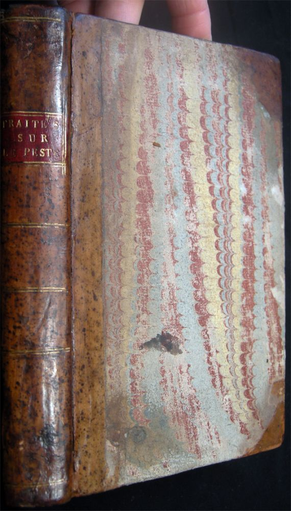 1778 - 1784 Collection of Four Publications Regarding The Plague in Russia & Europe, Bound in One: By Charles De Mertens; M.D. Samoilowitz; and Jean-Francois Paris. History of Medicine - 18th Century - The Plague.