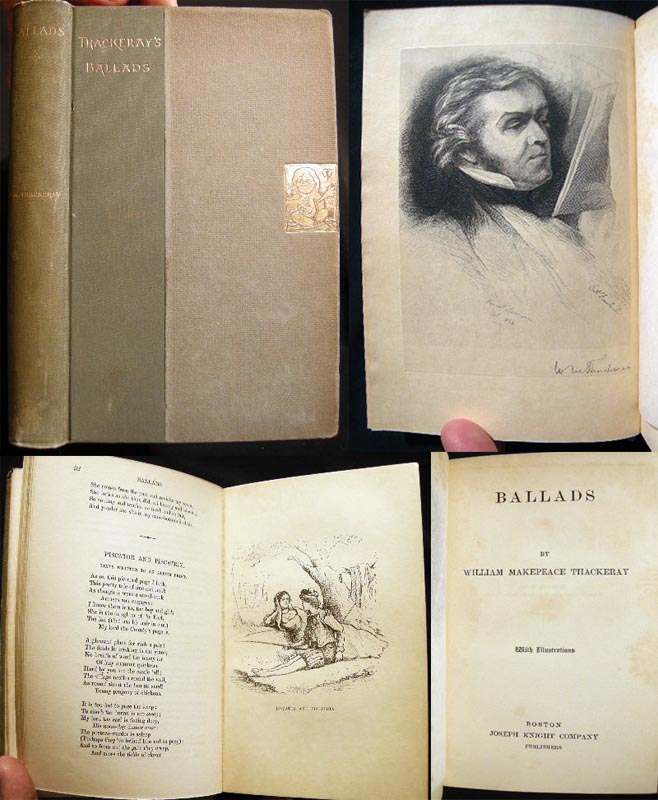 Ballads. William Makepeace Thackeray.