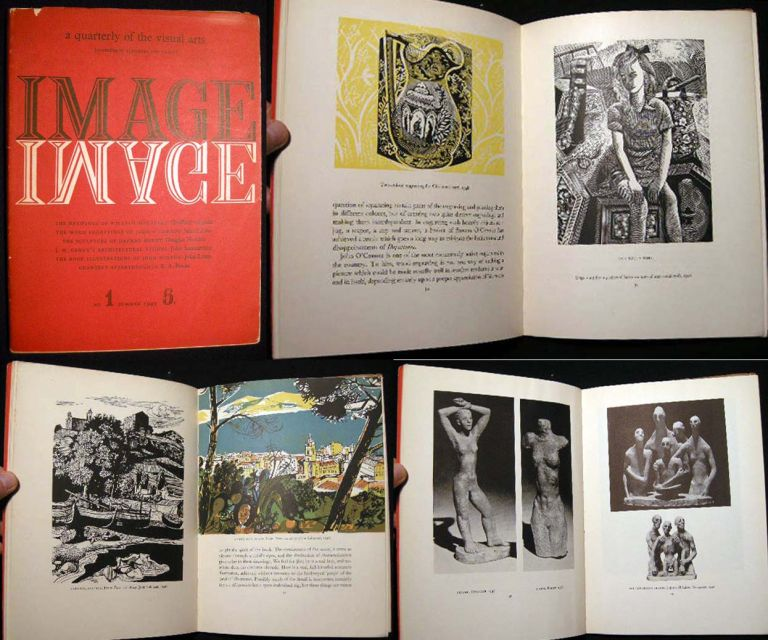 Image: 1 A Quarterly of the Visual Arts Number One Summer 1949. Art - 20th Century - Graphics - Typography - Visual Arts.