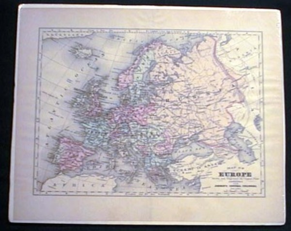 Map of Europe. Map of Europe.