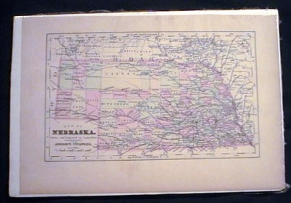 Map of Nebraska. Map of Nebraska.