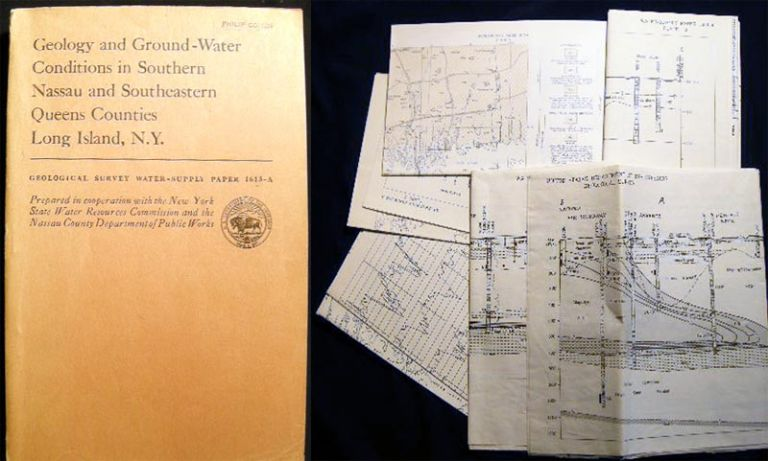 Geology and Ground-Water Conditions in Southern Nassau and Southeastern Queens Counties Long Island, N.Y.: Reltion of Salt Water to Fresh Ground Water Geological Survey Water-Supply Paper 1613-A. N. M. Perlmutter, J. J. Geraghty.