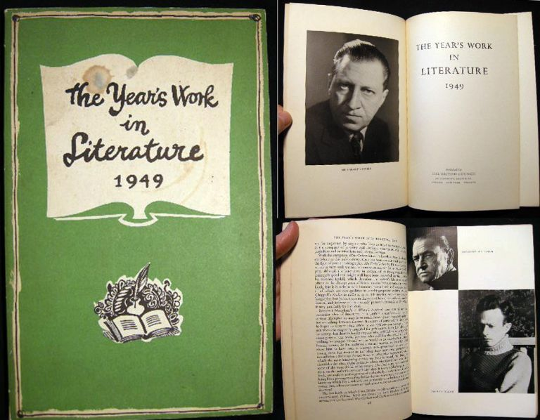 The Year's Work in Literature 1949. The British Council.