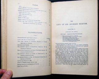 The Life of Captain Sir Richard F. Burton K.C.M.G., F.R.G.S. By His Wife Isabel Burton Edited, with a Preface, By W.H. Wilkins