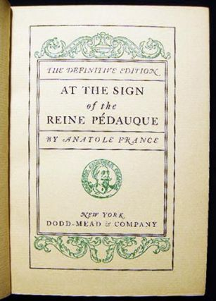 At the Sign of the Reine Pedauque: The Definitive Edition