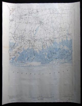 Map of the Town of Hempstead Nassau County Long Island New York. Americana - 20th Century -...