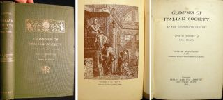 Glimpses of Italian Society in the Eighteenth Century from the 'Journey' of Mrs. Piozzi with an...