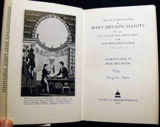 The Children's Books of Mary (Belson) Elliott Blending Sound Christian Principles with Cheeful Cultivation a Bibliography