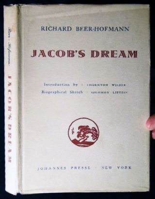 Jacob's Dream. Richard Beer-Hofmann