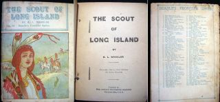 The Scout of Long Island No. 75 Beadle's Frontier Series. R. L. Wheeler