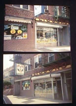 2 Photographs of McKey Liquor Store and Also Star Deli 86th Street Bay Ridge Brooklyn New York...