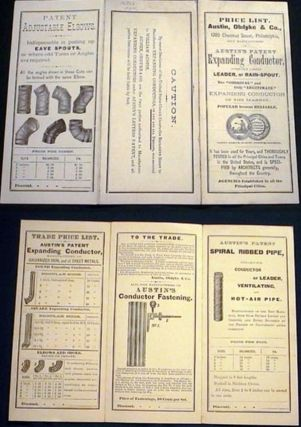 Illustrated Price List for Austin, Obdyke & Co., 1705 Chestnut Street, Philadelphia, Sole...