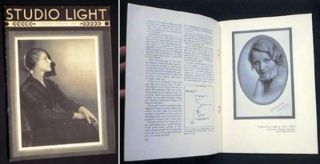 Studio Light a Magazine for the Profession published By the Eastman Kodak Company Rochester New...
