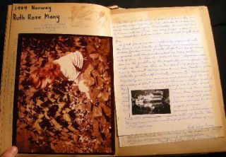 Album of Manuscript Memorabilia and Letters from the International Four-H Club Exchange Program