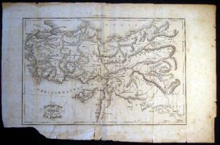 Map of the Expedition of Darius and Retreat of the Ten Thousand Engraved By T.Kelly Extracted...