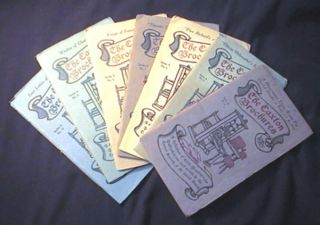 A Group of the Caxton Brochures Including: Series A. No. 1, 3, 6, 7, 8, 9, 10. Caxton Society