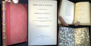 Border Lines of Knowledge in Some Provinces of Medical Science. An Introductory Lecture,...